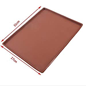 1 piece Oven mat non-stick silicone multi-function 31 27cm baking cake mat swiss roll mold pad painted mat baking tools