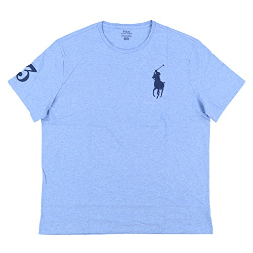 Polo Ralph Lauren Mens Crew Neck Big Pony T-Shirt (X-Large, ()