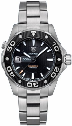 TAG Heuer Men's WAJ2110.BA0870 Aquaracer Automatic 500M Calibre 5 Watch
