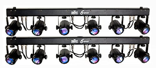 Chauvet 6Spot Led Color Changer Lighting System - 2