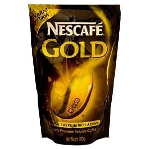 Amazon.com : Nescafe Gold Premium Instant Coffee Fresh Taste & Rich Aroma Instant Coffee 180 g ...