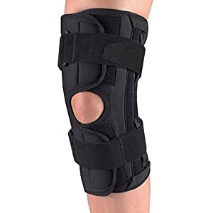OTC ORTHOTEX Knee Stabilizer Wrap with Spiral Stays, 5X-large
