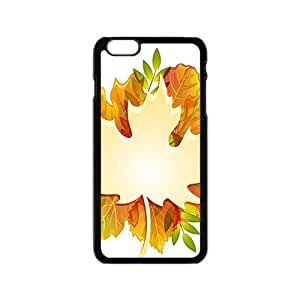 Maple leaf and Autumn Hight Quality Plastic Case for Iphone 6 by icecream design
