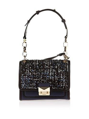 bleu Femme bleu Karl pour menotte Lagerfeld nuit Sac WBBq1ZwUa8