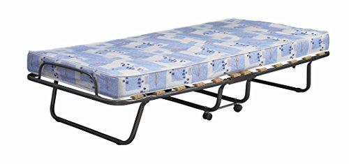 Linon 358ROMA-01-AS-U Regency Folding Bed, Blue & White