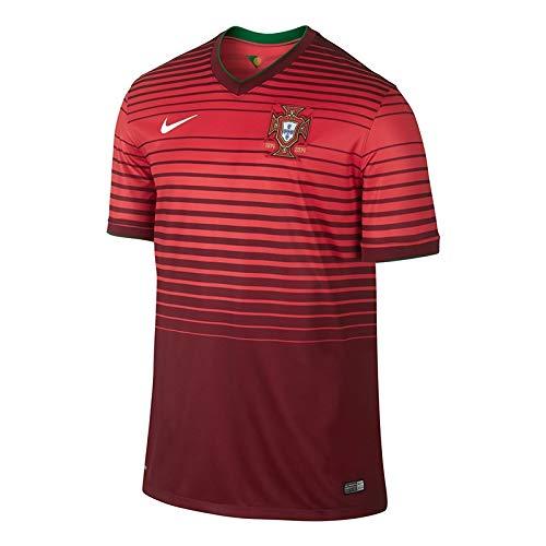 NIKE Portugal 2014 Stadium Men s Soccer Shirt at Amazon Men s ... dff3bb57c