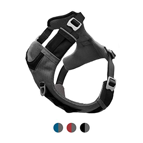 Journey Pull - Kurgo Dog Harness for Small, Medium, Large Dogs, Reflective Harness for Running, Walking and Hiking, Journey Air Style