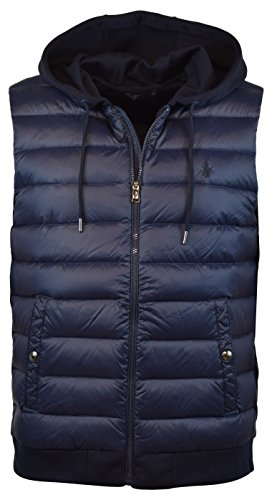 - Polo Ralph Lauren Men's 750 Fill Double-Knit Down Vest, XL, Aviator Navy