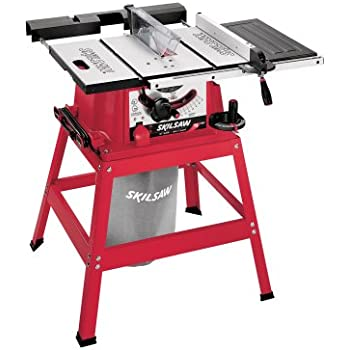Elegant SKIL 3400 15 15 Amp 10 Inch Table Saw With Stand And Dust Collection