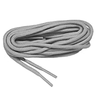 Light Smoke Grey proBOOT(tm) Rugged Wear boot round shoelaces - (2 pair pack)