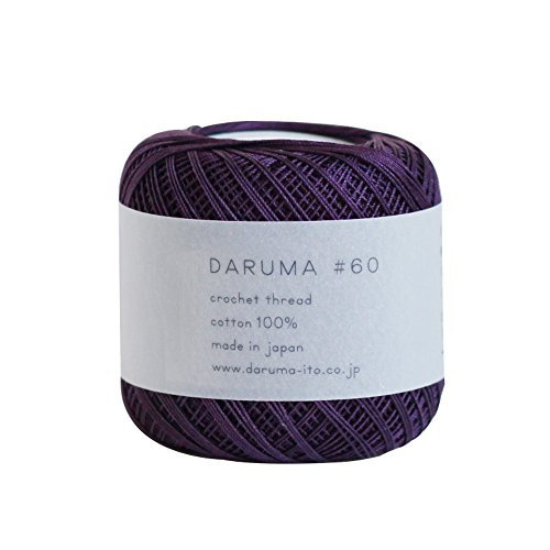 Lace thread Dharma lace thread # 60 10 g 125 m Col.9 3 ball set by Yokota