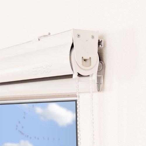 EFIXS Doppelrollo mit weißer Aluminiumkassette    Farbe  weiß  Größe  170x175cm  ab 43,50 EUR  weitere Breiten im Angebot wählbar B00DB3KALW Seitenzug- & Springrollos 271cf6