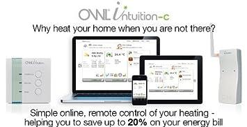 Owl Intuition-C Inspire - Termostato para calefacción central (programable en línea, Wi