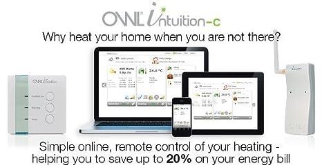 Owl Intuition-C Inspire - Termostato para calefacción central (programable en línea, Wi-Fi, control de red, control de consumo de energía): Amazon.es: ...