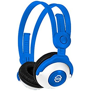 Amazon.com: Kidz Gear Wired Headphones For Kids - Blue