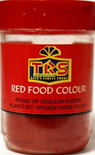 TRS Red Food Colour 25g: Amazon.co.uk: Grocery