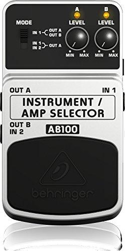 Behringer AB100 Instrument Amplifier Selector