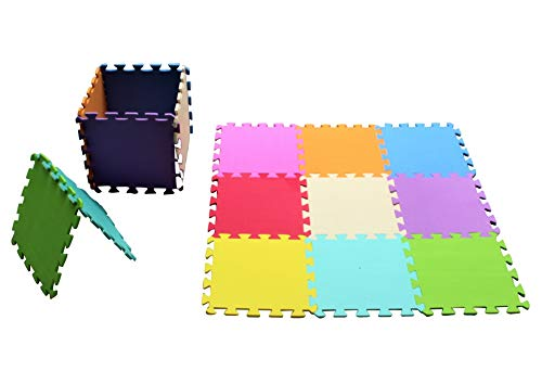 Eva entrelacés dalles d'activité de jeu en mousse souple Tapis de enfant 50SQ ft Home and Garden Products Ltd