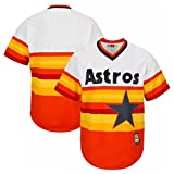 Houston Astros MLB Kids Cool Base Cooperstown Pullover Jersey - Size Kids 5-6