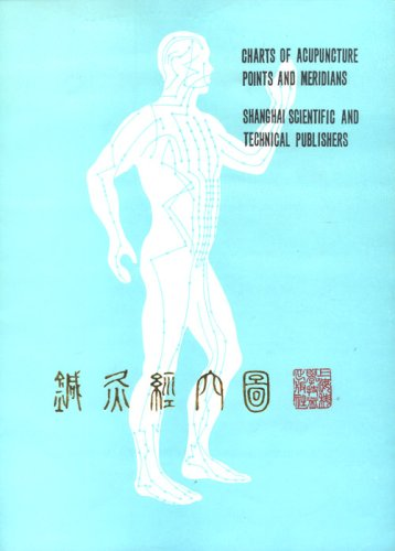 Meridians Chart Acupuncture (Charts of Acupuncture Points and Meridians (Chinese Edition))