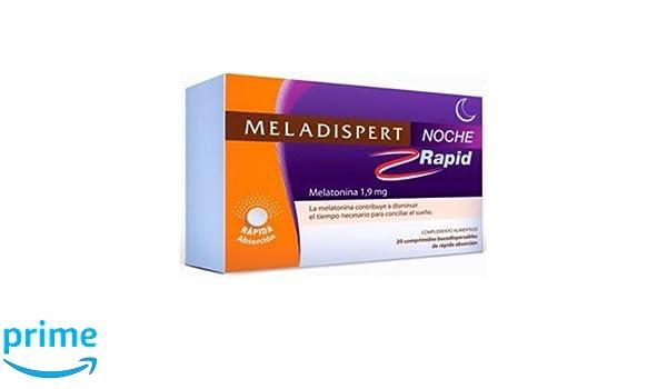 Meladispert - MELADISPERT NOCHE RAPID 1.9MG 20 COMPRIIDOS: Amazon.es: Salud y cuidado personal