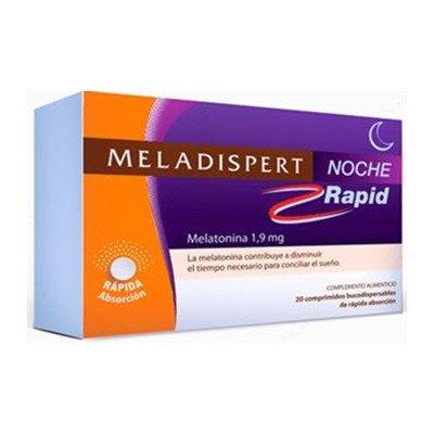Meladispert - MELADISPERT NOCHE RAPID 1.9MG 20 COMPRIIDOS
