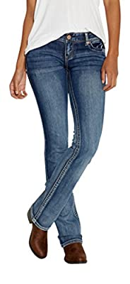 maurices Women's Ellie Slim Boot Jeans In Medium Wash