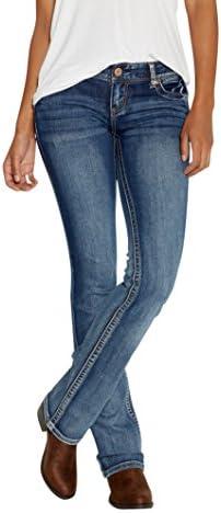 Maurices Ellie Slim Jeans de arranque de la mujer en Medium Wash