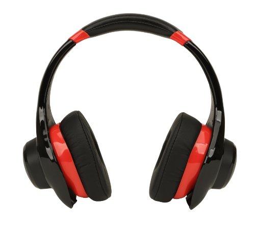 Denon AH-D320RD Urban Raver On-Ear Headphones (Red) OPEN BOX (Denon On Ear Headphones)