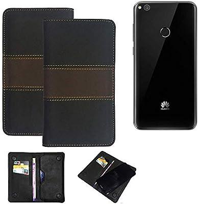 K-S-Trade® Estuche Móvil para Huawei P8 Lite 2017 Single SIM Funda para Billetera Carcasa Estilo De Libro Bolsa Protector Bolsillo para Teléfono, 1x: Amazon.es: Electrónica