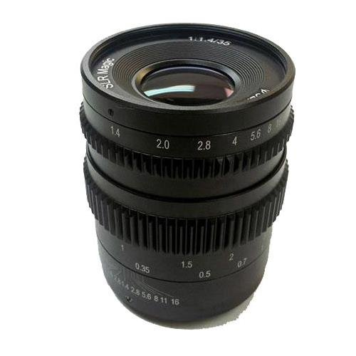 Best slr magic 35mm t1.4 cine ii list