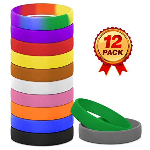 (colored rubber bracelets | colored wristbands for events | colored rubber bands for bracelets | colored wristbands | rubber bands colored | colored rubber band | colored rubber bands (Mix, Youth) )
