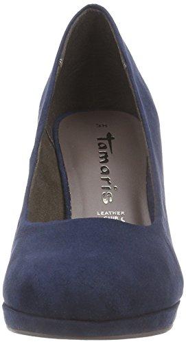Bleu Avant Talons 22420 Tamaris Chaussures 805 Pieds Bleu du Navy à Femme Couvert SnOHvxHq