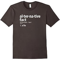 Men's Alternative Facts Definition T-Shirt XL Asphalt