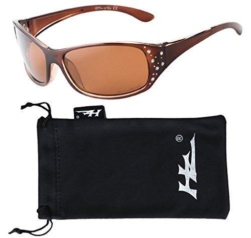Polarized Sunglasses for Women - Premium Fashion Sunglasses - HZ Series Elettra Womens Designer Sunglasses