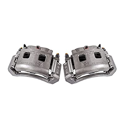 CCK11546 [2] FRONT [ 2WD 4WD ] Premium Grade OE Semi-Loaded Remanufactured Caliper Assembly Pair Set: Automotive