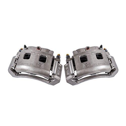 - CKOE00977 [ 2 ] FRONT [ 2WD 4WD ] Premium Grade OE Semi-Loaded Caliper Assembly Pair Set