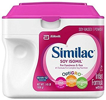Similac Soy Isomil Baby Formula - Powder - 23.2 oz (Best Soy Formula For Constipation)
