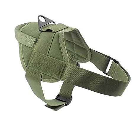 XFC-DOG-E, Chaleco para Perros táctico Caza Militar K9 Arnés de ...