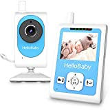 Baby Monitor with Video Recording Camera &Motion Detection Alarm, Night Vision, Two-Way Talk Audio, Temperature Monitoring and Long Transmission Range