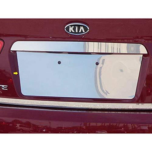 Chrome 8 1/4' License Plate Bezel fits 2010-2013 Forte
