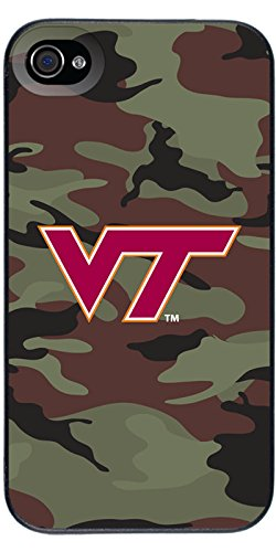 Coveroo Thinshield Snap-On Case for iPhone 4s/4 - Retail Packaging - Virginia Tech - Camo 1 Design