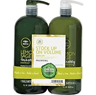 Paul Mitchell Tea Tree Lemon Sage Thickening Shampoo and Conditioner Set, 33.8 oz (B000NHZSKC) | Amazon price tracker / tracking, Amazon price history charts, Amazon price watches, Amazon price drop alerts