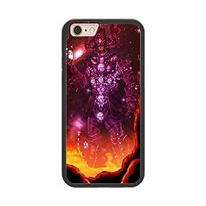 galactus P6P3FP7I Caso funda iPhone 6 Plus 5.5 Inch Caso funda del teléfono celular Negro