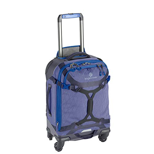 Eagle Creek Gear Warrior 4-Wheel Carry-On Luggage, 22-Inch, Arctic Blue