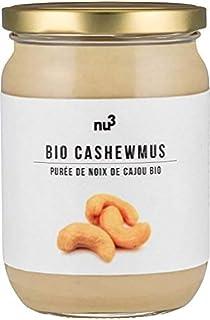nu3 Crema de anacardo BIO | 250g de cashew butter 100% orgánica | Mantequilla de