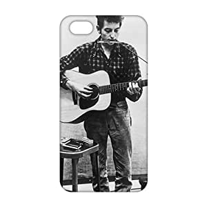 2015 Ultra Thin Bob Dylan Guitar 3D Phone Case for iPhone 5s by icecream design