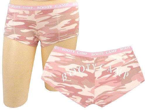 "Rothco Ladies ""Booty Camp"" Booty Shorts - Pink Camo - Medium [Misc.]"