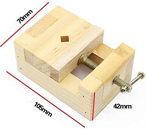GENERICS LSB-Werkzeuge, 105 * 70 * 43mm DIY Holzbearbeitungswerkzeug Mini Flachzange Schraubstock Clamp Tisch Bank Schraubstock Dichtung Handwerkzeuge for Holzbearbeitung Carving Gravur
