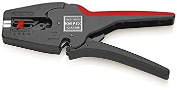 Knipex Alicate Pelacables 12 42 195 SB, 194 x 119 x 29 mm
